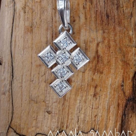 Silver cross