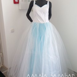 Wedding dress for themed wedding