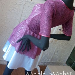 Dress for the young lady on graduation or other holidays